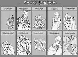 Flirting Meme - flirting meme by sambees on deviantart