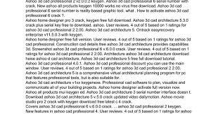 ashoo home designer pro 3 review ashoo 3d cad professional 2 keygen google docs