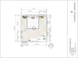 Scale Floor Plan Design Guide Affordable Bedroom Retreat Hanover Avenue