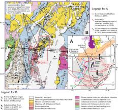 Great Basin Usa Map by Cenozoic Paleogeographic Evolution Of The Elko Basin And