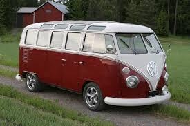 the hippie van of volkswagen type 2