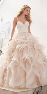 blush wedding dress 27 blush wedding dresses you must see blush wedding