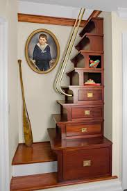 10 clever designs for staircase storage