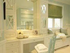 Bathroom Vanity With Seating Area by From Traditional Home Magazine Gilt Mirror In This Lovely Vanity