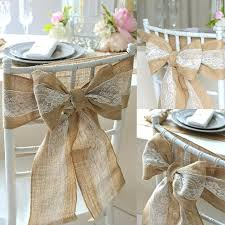 chair ties burlap chair ties hot sale burlap chair sashes naturally