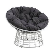 fauteuil demi lune la loveuse de jardin papasan haut de gamme esthétique et confort