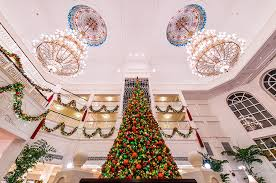 Christmas Decorations Online Hong Kong by Christmas Trees At Disney Parks Disney Parks Blog