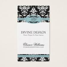 Home Staging Interior Design Damask Interior Design Home Staging Business Card Zazzle