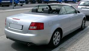 audi a4 convertible 2002 file audi a4 b6 cabriolet rear 20080715 jpg wikimedia commons
