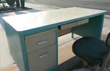 Metal Desk Vintage Vintage Steel Desk Ebay