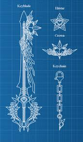 introducing keyblade blueprints by weapondesignerdawe on deviantart