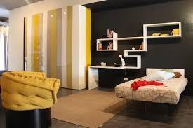 interior design yellow and gray rooms inspiration decor black