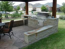 outdoor kitchens ideas pictures outdoor kitchen designs uk with wooden pergola and brown chairs