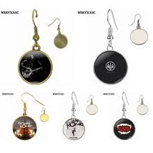 my chemical earrings buy rock band earrings and get free shipping on aliexpress