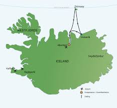 Aurora Map North Iceland Arctic Circle U0026 Whales Aurora Borealis
