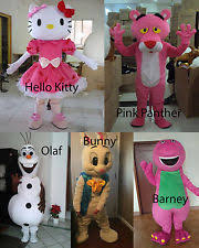 Pink Panther Halloween Costume Panther Mascot Costume Ebay