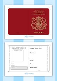 twinkl writing paper twinkl resources british passport template printable twinkl resources british passport template printable resources for primary