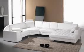 Modern Sectional Leather Sofas White Leather Sectional Sofa South Dakota 2 479 00
