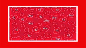 42 ans de mariage texte anniversaire de mariage 42 ans comment et où trouver