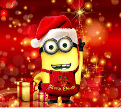 Despicable Me Christmas Lights by 47 Entries In Christmas Minions Wallpapers Group