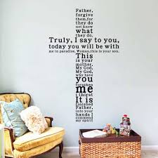 Home Decor Quotes Christian Wall Decors For Your Room Transformation Kobigal Com