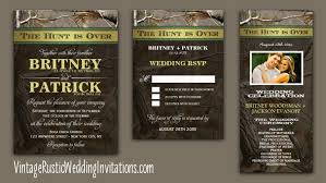 camouflage wedding invitations camo wedding invitations vintage rustic wedding invitations