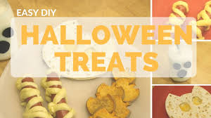 halloween diy treats cute fall themed food youtube