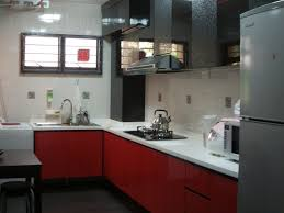 Low Kitchen Cabinets Kitchen Room Design Charming White L Shape Granite Countertops
