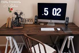 Diy Rustic Desk 23 Diy Computer Desk Ideas That Make More Spirit Work