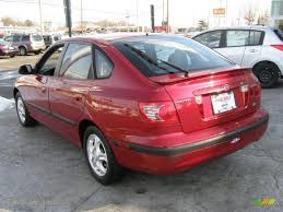 hyundai elantra gt 2004 2004 hyundai elantra gt hatchback in crimson photo 5
