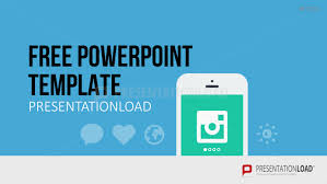 presentationload free powerpoint template mobile app