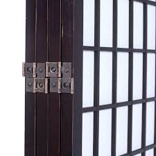 inexpensive room dividers 4 panel divider screen japanese oriental
