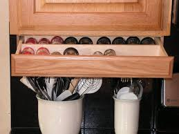 under cabinet spice rack under cabinet spice rack counter top drawers and storage ideas
