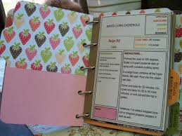 furloughed time cookbook scrapbook