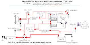 caféracersunited com how to solve wiring on a cafe racer