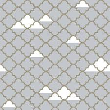 grey with gold removable wallpaper nursery