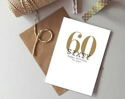 birthday cards for 60 year woman 60th birthday card etsy