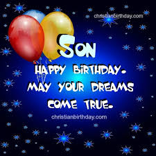 birthday card sayings son all wishes message greeting card and
