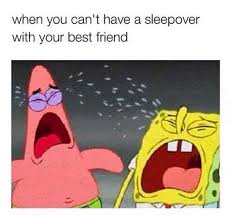 Sleepover Meme - spongebob and patrick meme jpg sfvrsn 0
