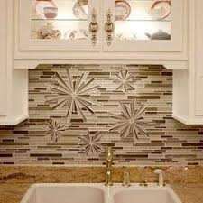 A Small Order Of Leaf Tiles Mixed With Rocks Can Create A Unique - Tile mosaic backsplash