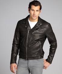 all black motorcycle jacket john varvatos star usa black lambskin leather asymmetrical zip