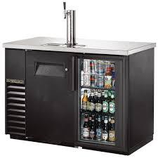 true 2 door glass cooler kegerator commercial beer dispenser keg cooler