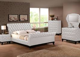 bed upholstered sleigh bed attractive wood and upholstered