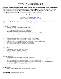 How To Do Good Resume How To Make A Proper Resume Resume Work History Format Resume