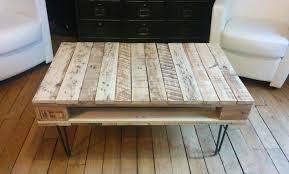 Table Basse Teck Alinea by Table Basse Bois De Palette Avec Crowdbuild For Idees Et 6 680x454
