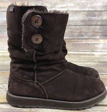 womens boots size 9 ebay skechers womens boots 48823 keepsakes reveal brown memory foam