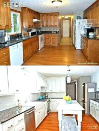 refurbishing old kitchen cabinets repainting old kitchen cabinet