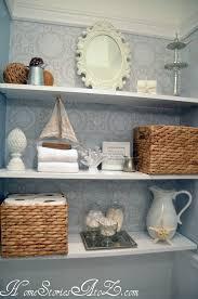 bathroom shelf decorating ideas bathroom shelves zebra wood vanity cabinet with dis
