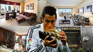 Trump S Apartment Take A Tour Of Cristiano Ronaldo U0027s 18 5 Million Apartment In