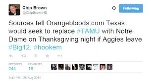 Funniest Thanksgiving Tweets Chip Brown U0027s Greatest Hits On Twitter Good Bull Hunting
